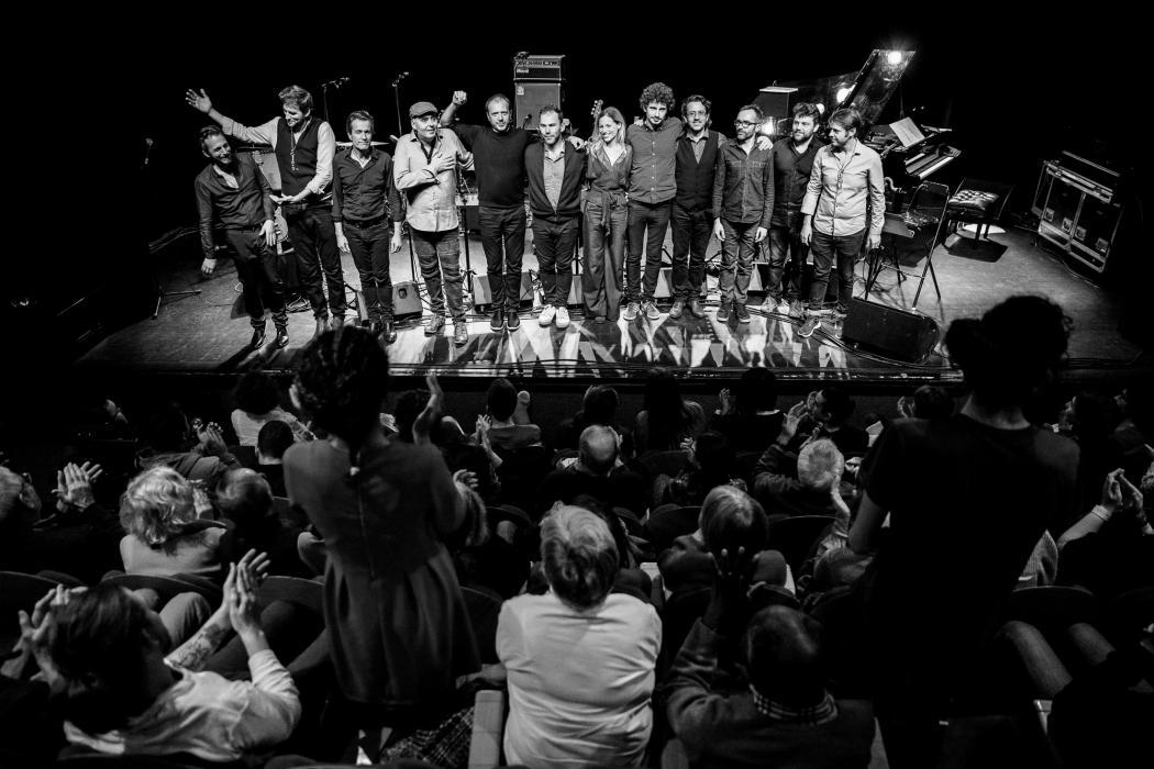 L'Orchestre National de Jazz Olivier Benoit au festival Emergences © Rémi Angeli – à Petit faucheux.