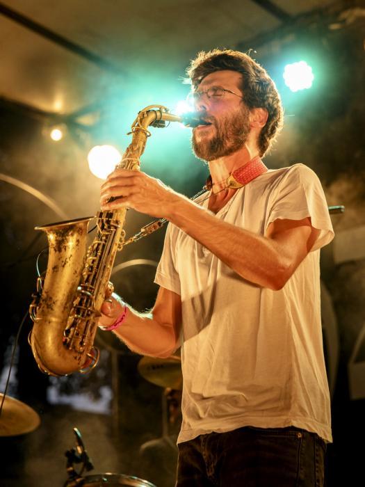 Electric Vocuhila à La Guinguette de Tours pour les 40 ans de Jazz à Tours