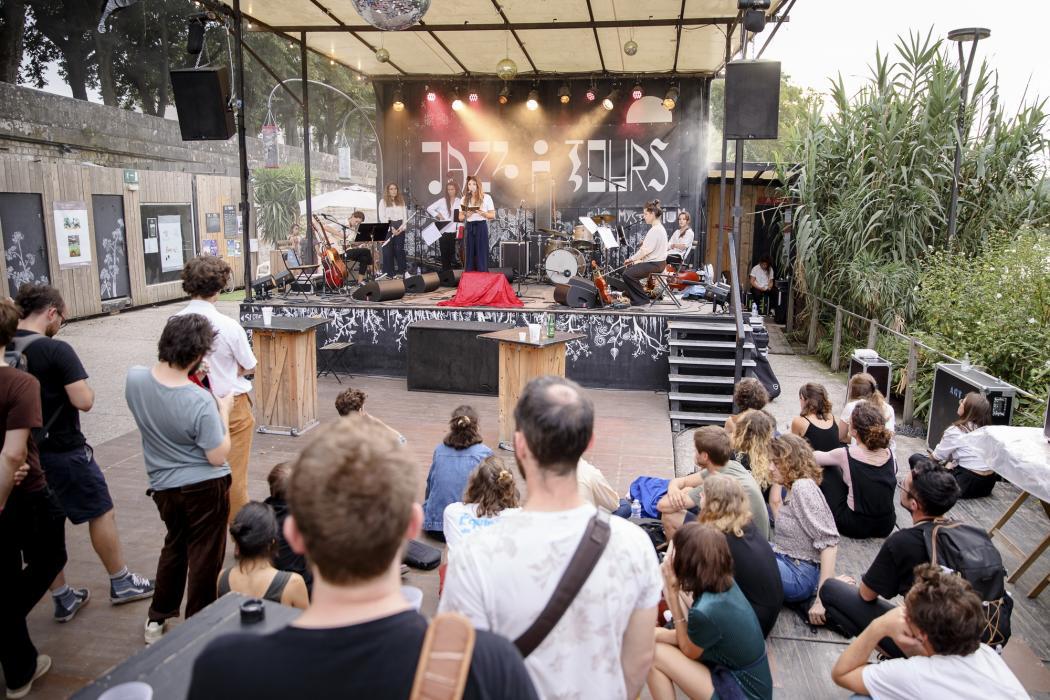 Mysterium à La Guinguette de Tours pour les 40 ans de Jazz à Tours